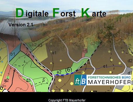 Digitale Karte